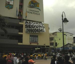 Lanazamiento Línea Salud Mujeres en Machala